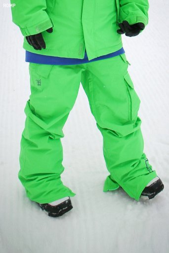 ROMP 180˚ Switch Pants - Neon Green