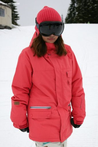 ROMP 270 ˚  Spin Jacket - RED