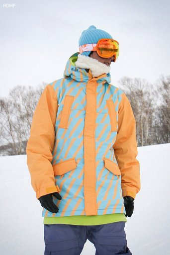ROMP 270˚  Spin Jacket Apricot