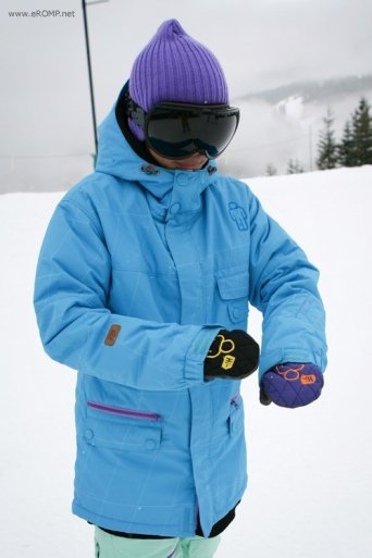 ROMP 270˚ Spin Jacket - Blue