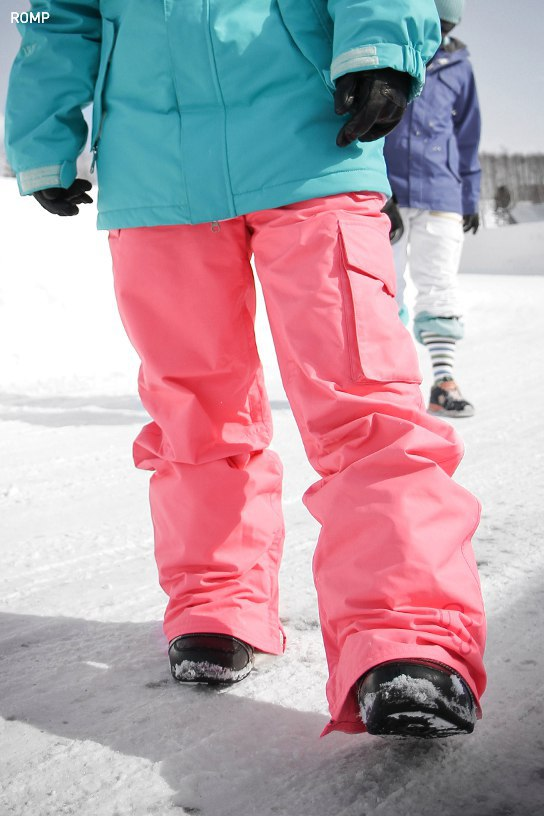 ROMP 180˚ Switch Pants - Neon Pink
