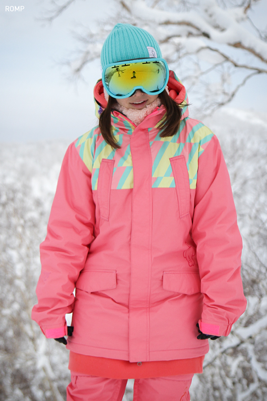 ROMP 270˚ Spin Jacket Pink