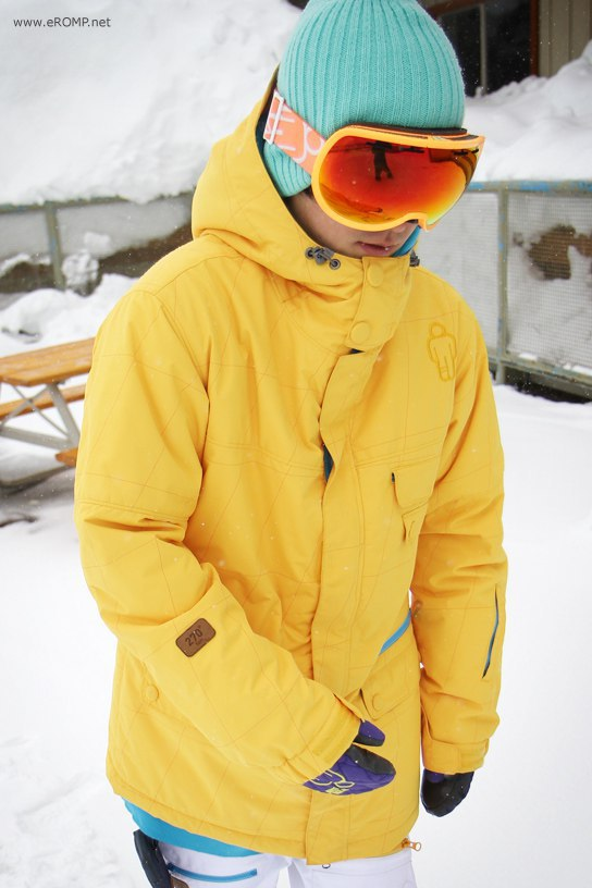 ROMP 270 ˚  Spin Jacket - Yellow