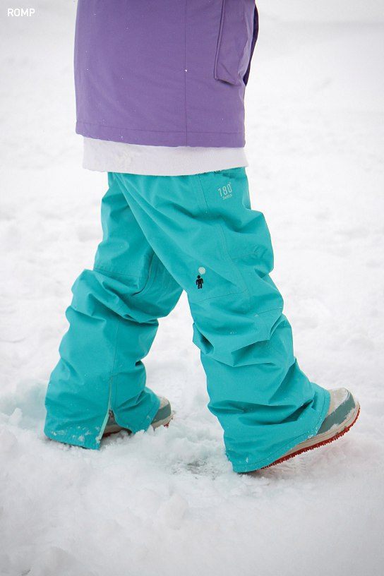 ROMP 180˚ Switch Pants - Turquoise