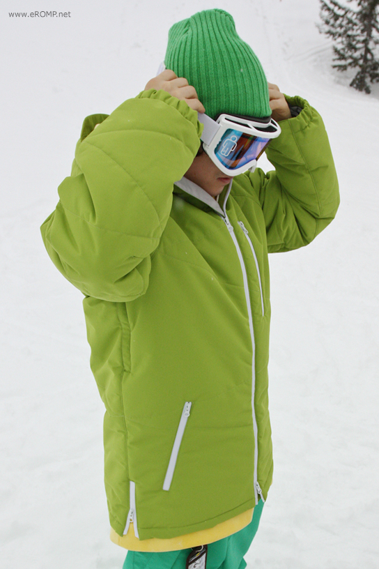 ROMP 270˚  Spin Jacket Green