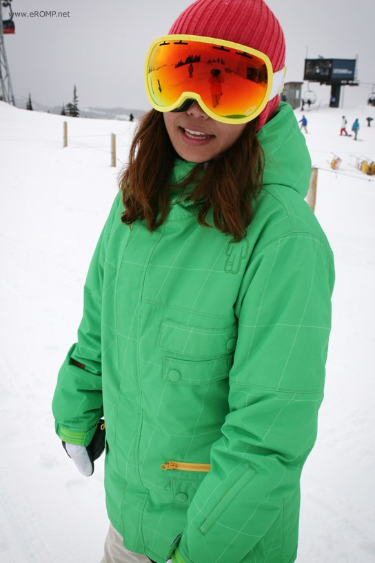 ROMP 270 ˚  Spin Jacket Green